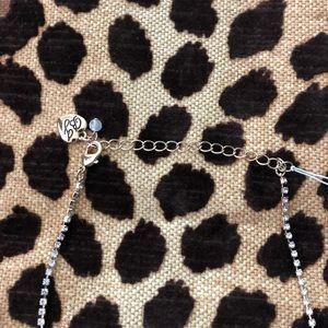 Betsey Johnson Jewelry - Betsey Johnson Gold Rhinestone Wing Necklace.